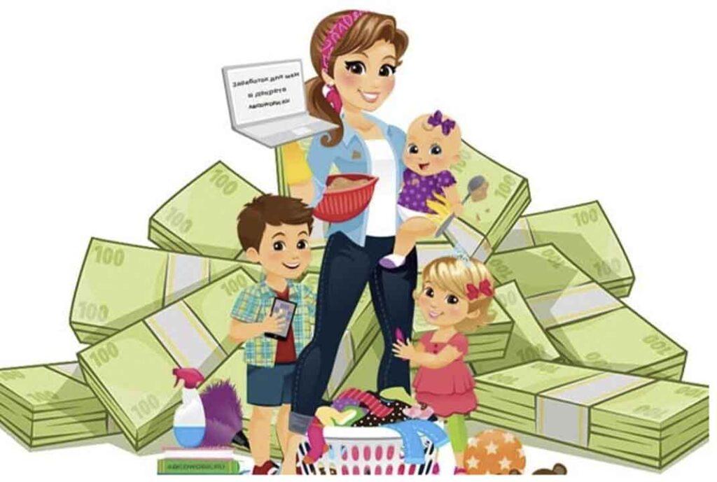 Как заработать в декрете: секреты для мам и пап
